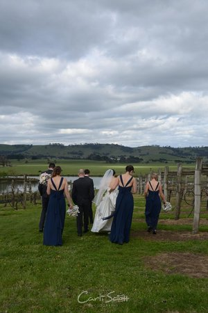 Lancefield, Australien: Wedding Cleveland Winery