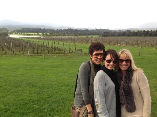 Vinetrekker Wine and Food Tours : Chandon Girls