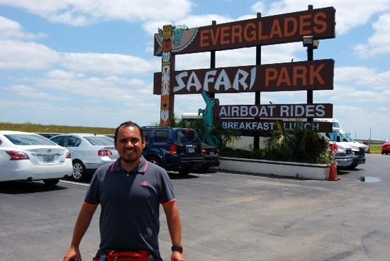 Everglades Safari Park: llegando al parque