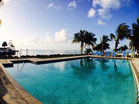 Seascape Motel and Marina: Poolside