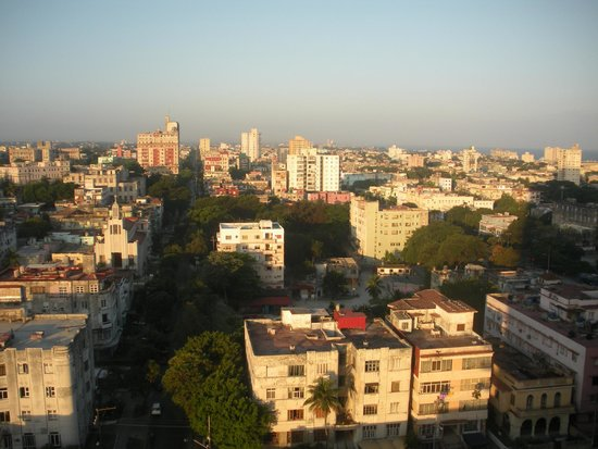 Tryp Habana Libre: Vista desde la habitacion