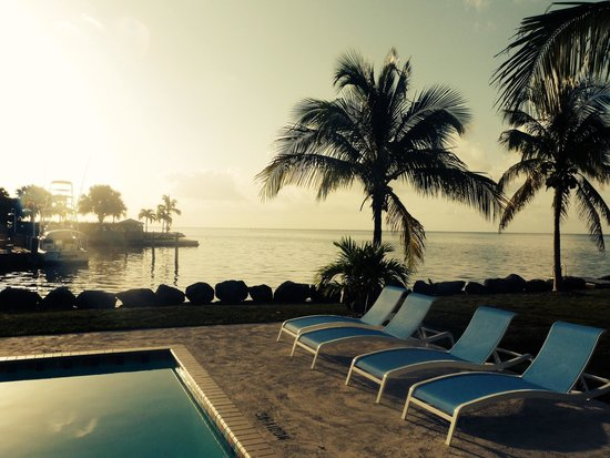 Seascape Motel and Marina: Sunrise!