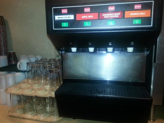 Country Inn & Suites By Carlson, York: Juice selection