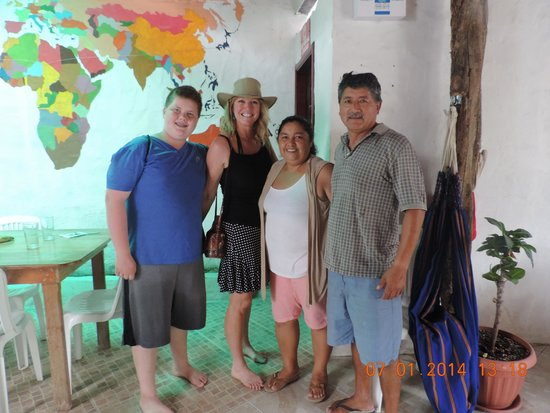 La Gran Tortuga: with Juanna and Jose