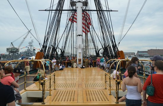 USS Constitution Museum : Center View