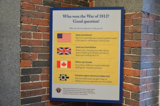 USS Constitution Museum : Who won the War of 1812?