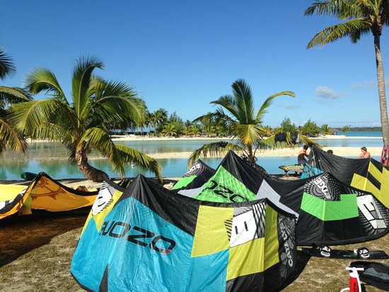 Ranginui's Retreat: Kites drying outside no.5