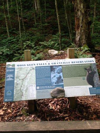 Moss Glen Falls: Info