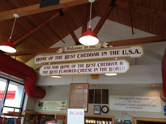 Cabot Visitors Center & Tour: Cabot Creamery Visitor Center