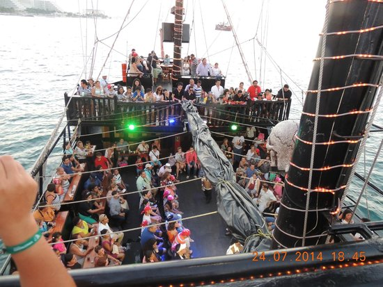 Captain Hook Barco Pirata Pirate Ship: excelente ambiente