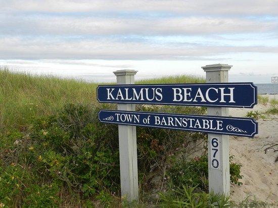 Kalmus Beach: Sign