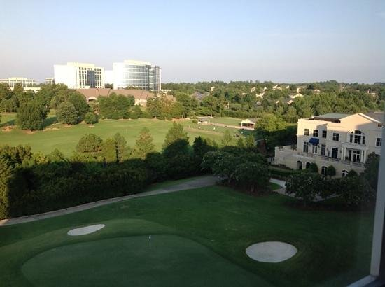 The Ballantyne Hotel and Lodge: view from my room