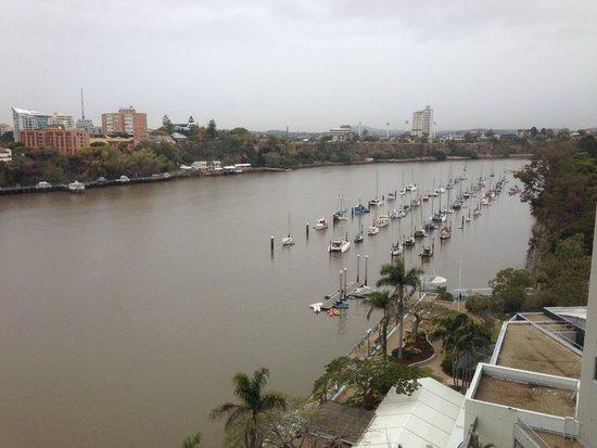 Stamford Plaza Brisbane: view from room