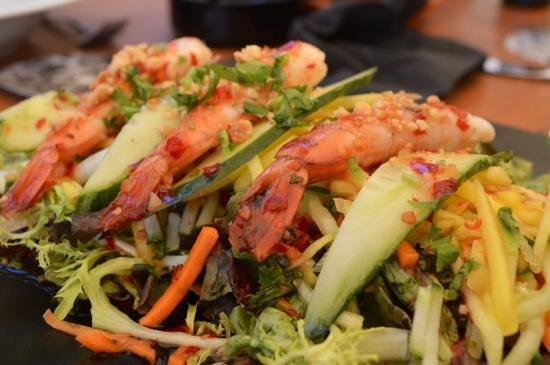 Balneario Illetas: Salade thaïe