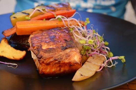 Balneario Illetas: Le saumon grillé