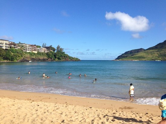 Kaua'i Marriott Resort : Beautiful Kalapaki Beach