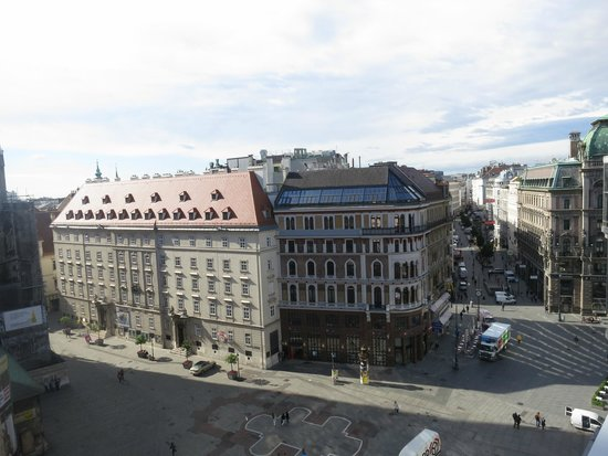 Hotel Am Stephansplatz: From the room