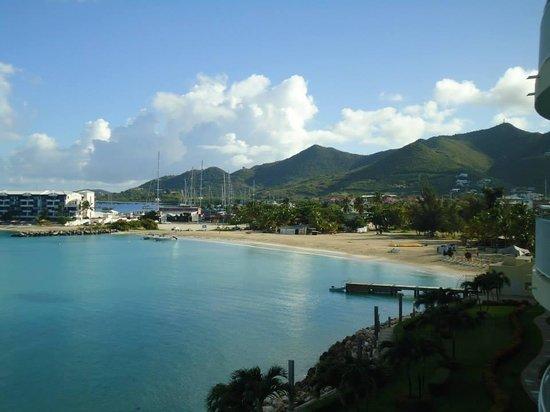 Simpson Bay Resort & Marina: View from the Lobby Area