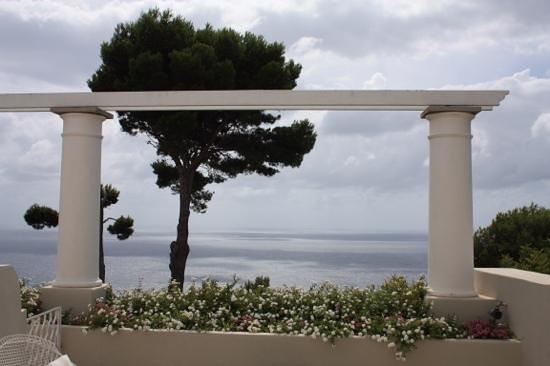 Hotel Orsa Maggiore : View from our private patio.