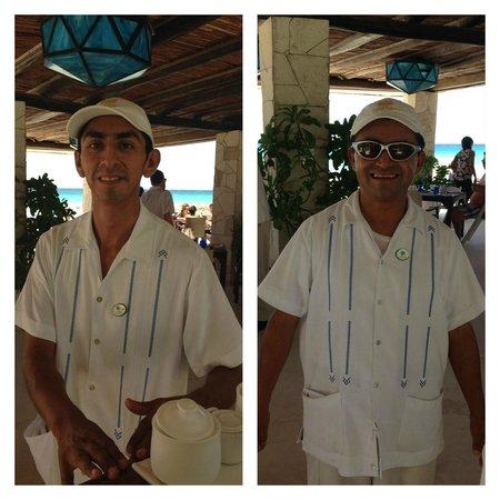 Viceroy Riviera Maya: Francisco and Pepe - the BEST!