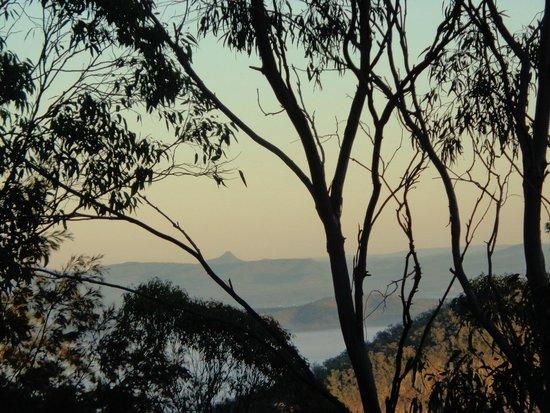 Tambaridge Bed and Breakfast : Early morning from the balcony