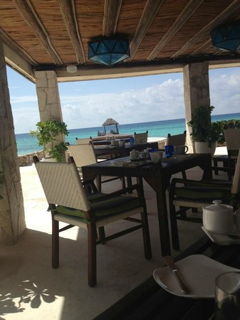 Viceroy Riviera Maya: Food with a view