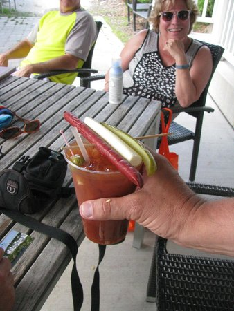 The Osthoff Resort : Bloody Mary in Osthoff Resort fashion