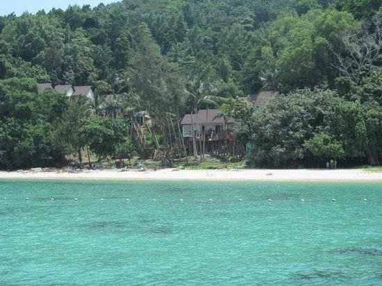 Manukan Island: Approaching Manukan