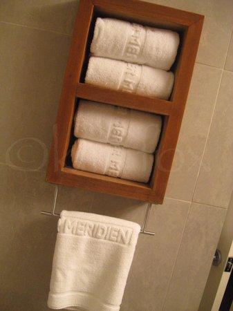 Le Parker Meridien New York: Nice towels at the LeMeridien in NYC