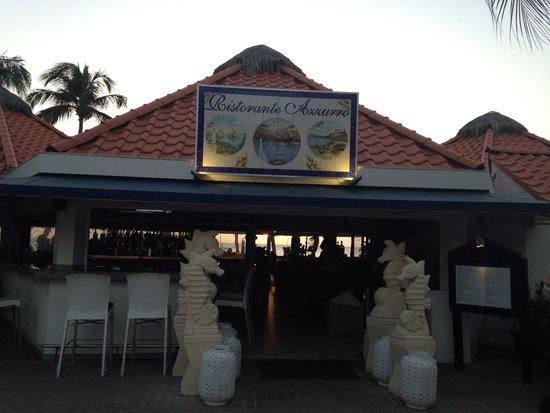 Azzurro Ristorante Italiano Palm Beach Aruba