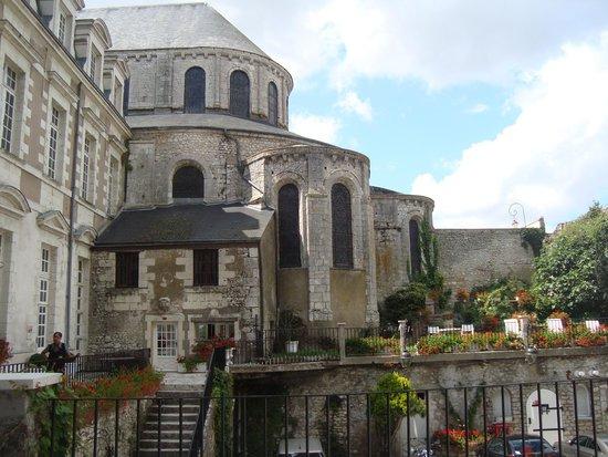 Le Grand Hotel de l'Abbaye : vista da varanda