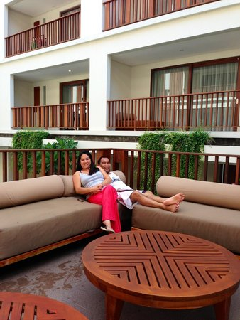 The Magani Hotel and Spa: We love hanging arround the pool