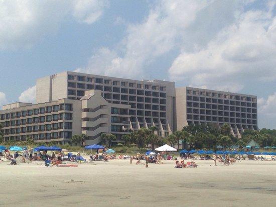 Hilton Head Marriott Resort & Spa: Beach View