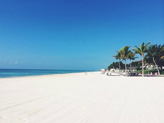 Grand Velas Riviera Maya: Breathtaking view of the beach