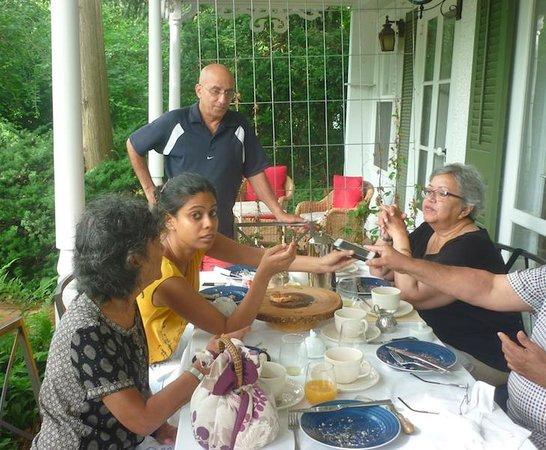 La Toscana di Carlotta : With our Host