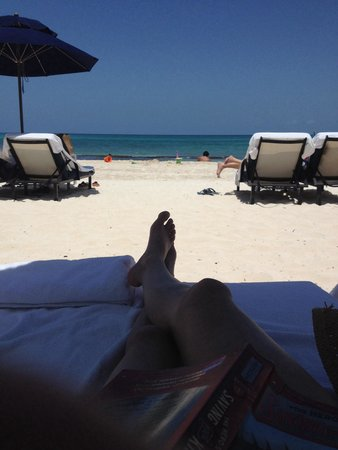 Banyan Tree Mayakoba: At the beach