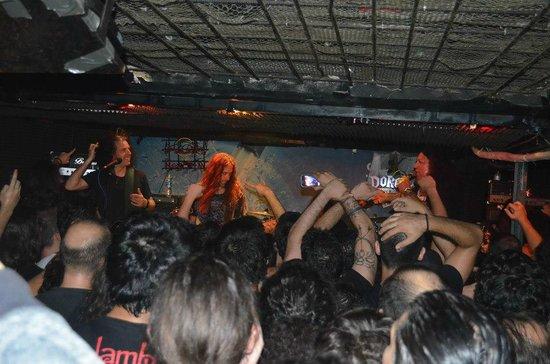 TESTAMENT concert in Dorock Bar.
