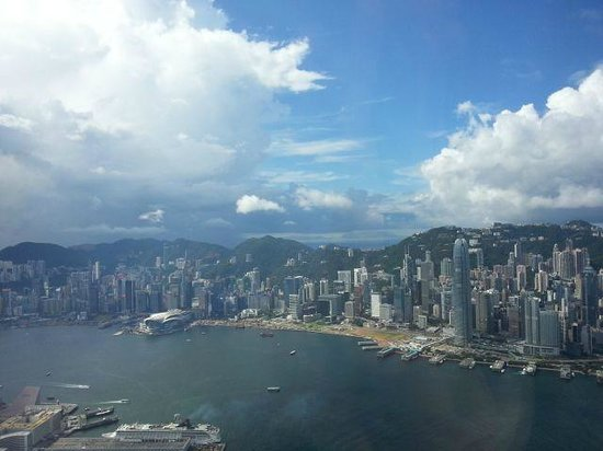 The Ritz-Carlton, Hong Kong : HK island and habour