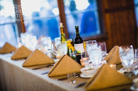 A Matter of Taste at Tapawingo: Rustic Table Setting