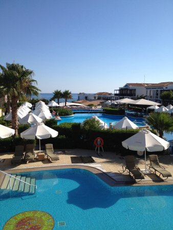 Aldemar Royal Mare Thalasso Resort: View from our balcony