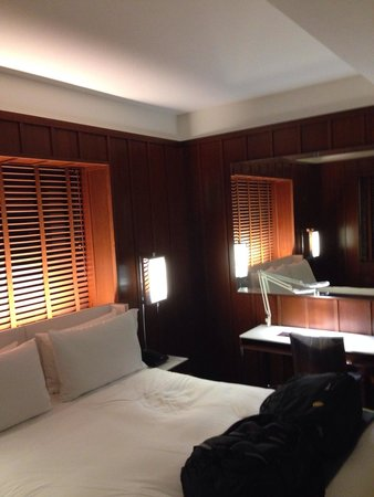 Hudson Hotel New York : Superior room