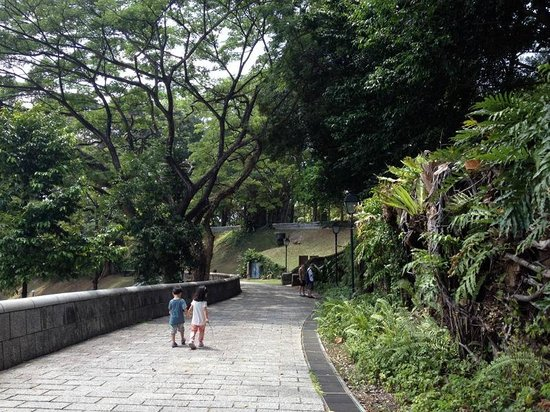 Hotel Fort Canning: Fort Canning Park