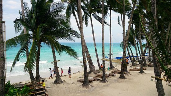 The District Boracay : View from the breakfast cafe
