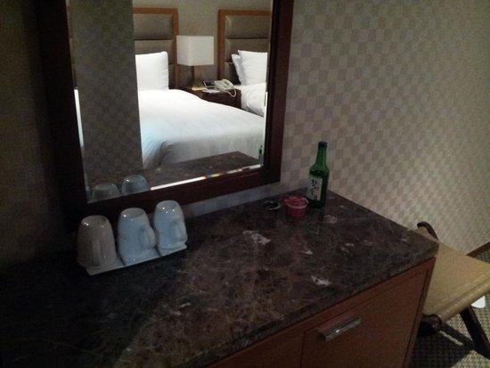 Lotte City Hotel Mapo: soju