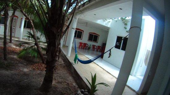 Hacienda La Catrina: patio