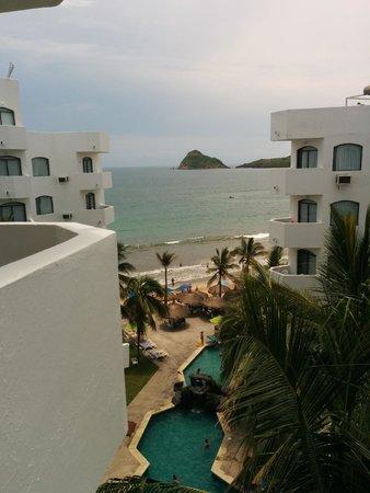 Ramada Resort Mazatlan : Vista de la ventana de el sexto piso