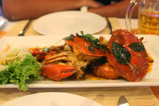 Aning Restaurant: Crabs!