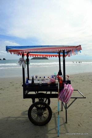 Playa Manuel Antonio Snow Cone Cart