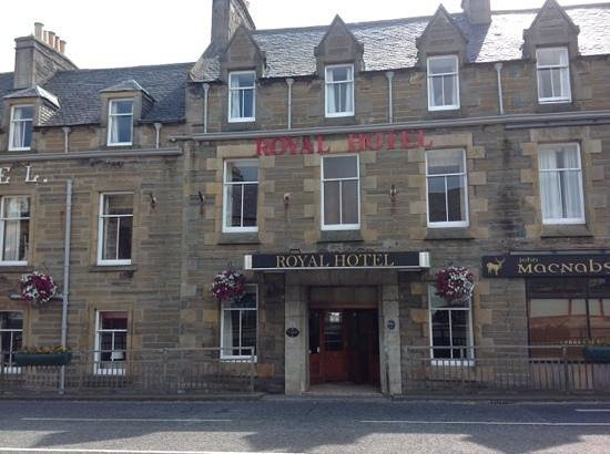 Royal Hotel, Caithness: a beautiful 19th Century Coaching Inn in the centre of town