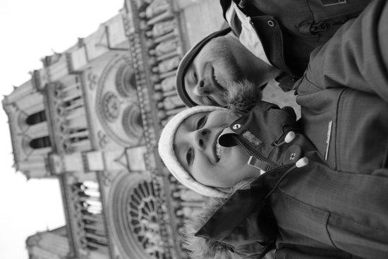 Tours de la Cathedrale Notre-Dame : out the front